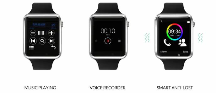 Smartwatch A1, funziona, come si usa