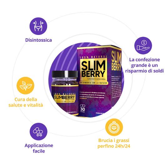 SlimBerry, in farmacia, Italia, originale